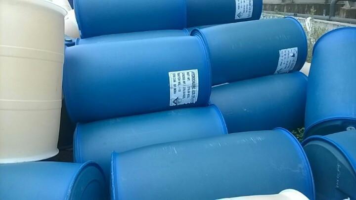 Thùng phuy nhựa cũ Hoàng Phong có độ mới từ 95-99%